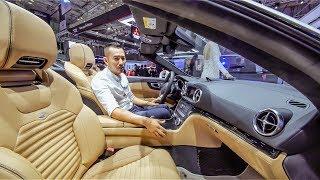 VMS 2018 - Khám phá Mercedes SL400 giá 6,7 tỷ mui trần đẹp rực rỡ tại Việt Nam
