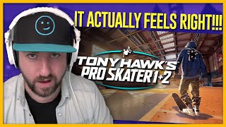 Tim Played Tony Hawk's Pro Skater 1 + 2 Remake! - First Impressions