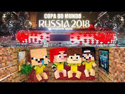 OS BEBÊS FIZERAM UMA CASA CAMUFLADA NA COPA DO MUNDO!!! - MINECRAFT