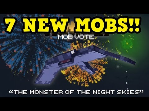 Minecraft PE / Console - 7 New Mobs W/ GAMEPLAY