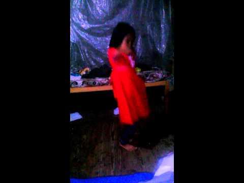 Chinese nepali girl dancing
