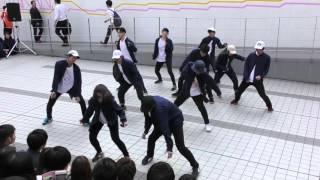 HOUSE / HSD 法政大学ダンスサークル 新歓 2016