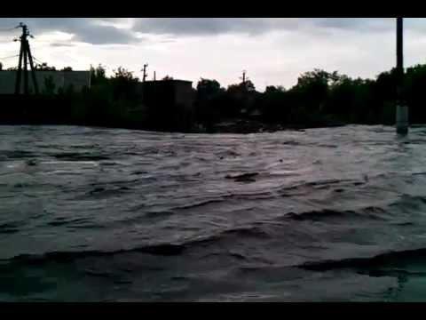 Inundaţii la Răzeni – 20.05.2012