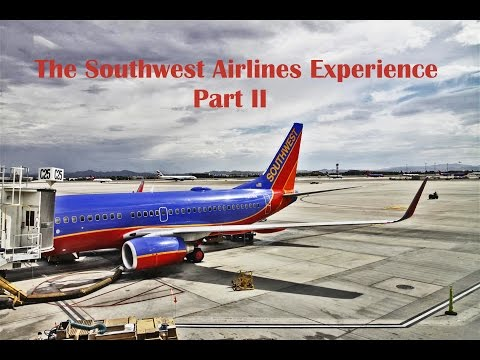 The Southwest Airlines Experience Part II: 737 Classic!