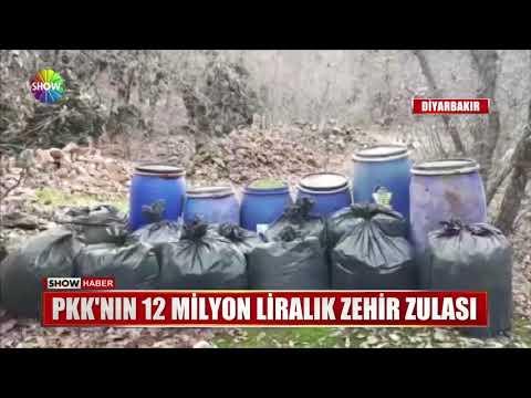 PKK'nın 12 milyon Liralık zehir zulası