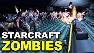 Trying to Stop a Zombie Infestation in Starcraft 2 First Person Mod Infestation Installation
