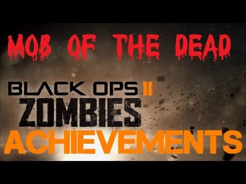 Mob of the Dead Achievements: The Beast, Trap Upgrades, & MORE! (Black Ops 2 Uprising DLC)