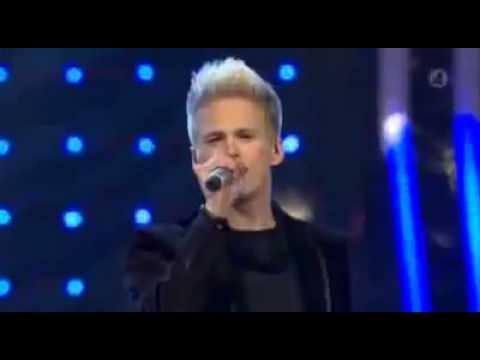 Erik Grönwall (vinnare Av Idol 2009) - Higher! Vinnarlåten Idol 2009 Final Sverige! video
