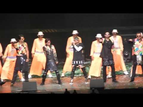 Slam Tour Concert Nj - All Male Artists - Lungi Dance - Sept 20, 2014 video