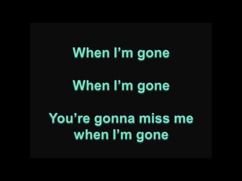 When I'm Gone - Anna Kendrick (Radio Version)