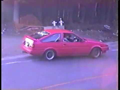1990 Igokuyama touge drift