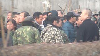 北京で元軍人ら抗議デモ