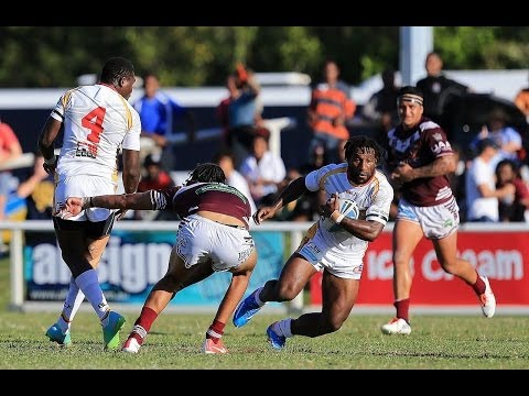 A late try to local product Chris Kitching has seen the Burleigh Bears claim a dramatic 26-22 win over the PNG Hunters in front of a massive crowd at Pizzey ...