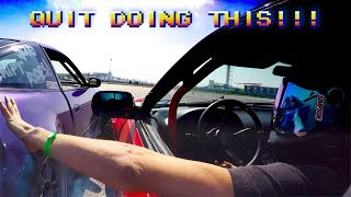 Drift demo at COTA - drivers make big money - don't lose your hands over it
