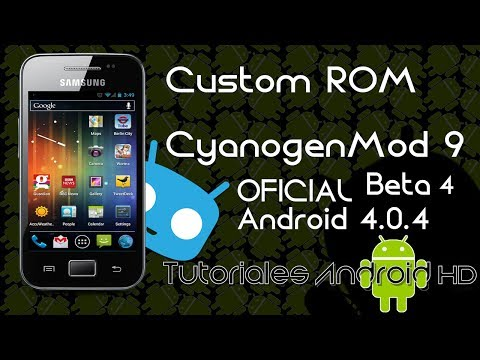 CyanogenMod 9 Beta 4 Android 4.0.4 OFICIAL Custom ROM (Inestable) [Galaxy Ace s5830i-m-c-39i]