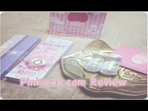 ❤ Pinkicon.com Unboxing & First Impression! (Circle Lenses) ❤