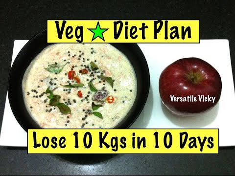 How to Lose Weight Fast 10 kgs in 10 days / 1000 Calorie Weight Loss Plan