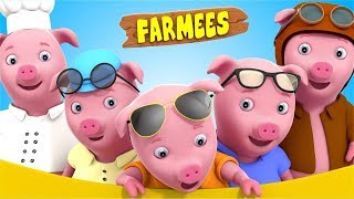 This Little Piggy Went To Market | Best Nursery Rhymes For Kids | Baby Songs by Farmees