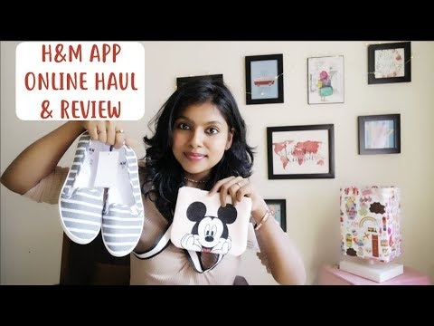 H&M India Online Haul & Review - H&m Online App Shopping Guide | AdityIyer