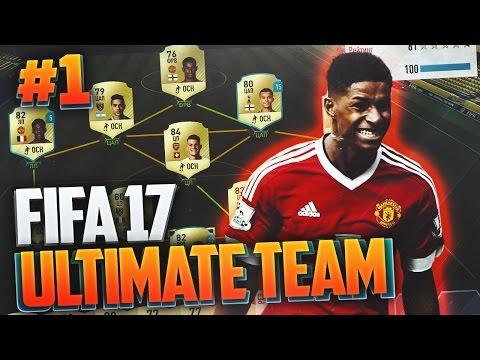 МЫ НАЧИНАЕМ!!! - #FIFA17 Ultimate Team #1