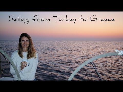 4. Sailing from Turkey to Greece | Sailing around the world | Hanse 445