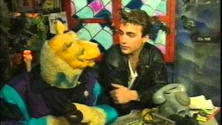 MARK STEVENS NICK PAGE FROM NEIGHBOURS 1991 INTERVIEW ON GHOST TRAIN