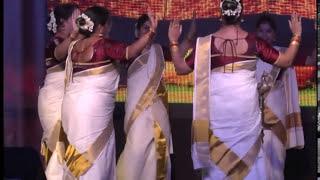 Angane Njan - Thiruvathira (Indian Social Club Salalah - Onam Eid 2013)