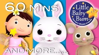 Little Bunny Foo Foo | Plus Lots More Nursery Rhymes | 60 Minutes Compilation from LittleBabyBum!