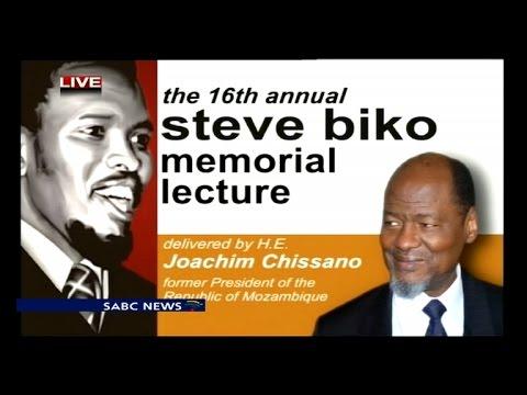 Annual Steve Biko memorial lecture: Joaquim Chissano