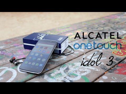 Análisis Alcatel OneTouch Idol 3 (5.5 pulgadas). review en español