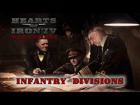 Hearts of Iron IV Infantry Division Design Guide - War College 203 #1