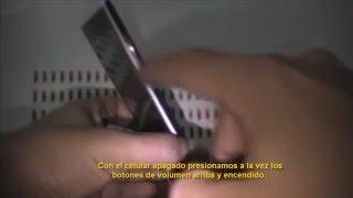 Hard reset/restauracion de fabrica celular Zoom Ultra