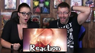 Marvel Studios Captain Marvel Official Trailer Reaction