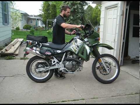 Kawasaki KLR650 Exhaust Upgrade