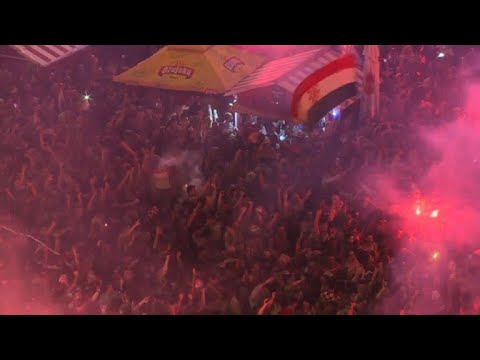 World Cup: Croatia fans celebrate reaching final for first time thumbnail