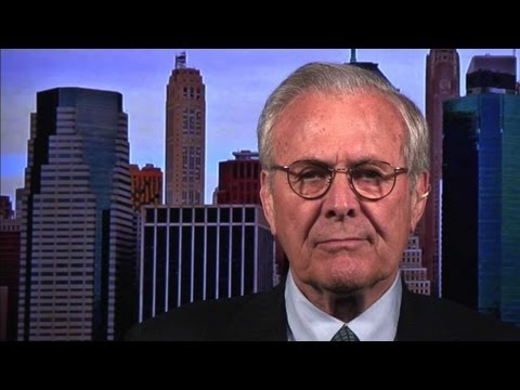 Rumsfeld: Obama Administration Must 'Compete Ideologically Against' Terrorists
