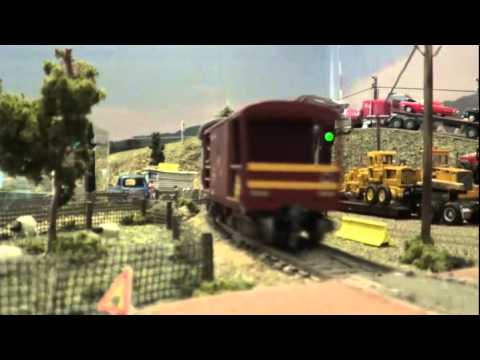 Aliwal North SAR Layout in HO scale - October 12, 2014.