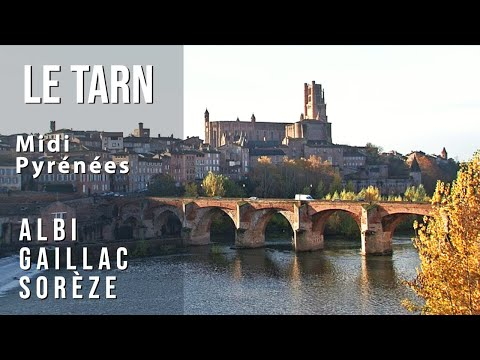 LE TARN - Midi Pyrnes - Francia / France - Albi, Gaillac, Sorze - Turismo, travel, tourisme