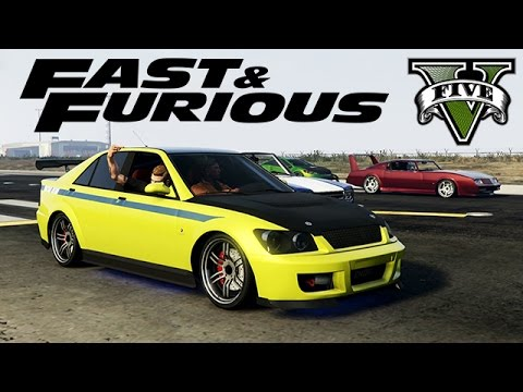 GTA V - Fast & Furious !