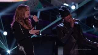 Celine Dion & Ne-Yo - Incredible on The Voice US 2013 Finale HD 1080p