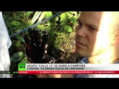 Calle 13 se suma a la campaña 'La Mano Sucia de Chevron'