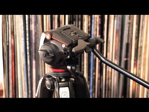Manfrotto MHXPRO-2W FLUID HEAD AND 190x Tripod
