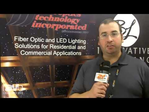 CEDIA 2015: Fiberoptics Technology Incorporated Offers Fiber Optic Lighting Such as Star Ceilings