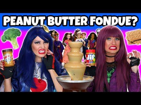 Peanut Butter Fondue Challenge. Totally TV