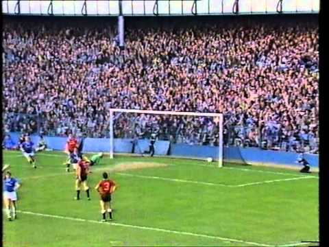 EVERTON 5-0 MAN UTD, MAN UTD 1-2 EVERTON OCT'84