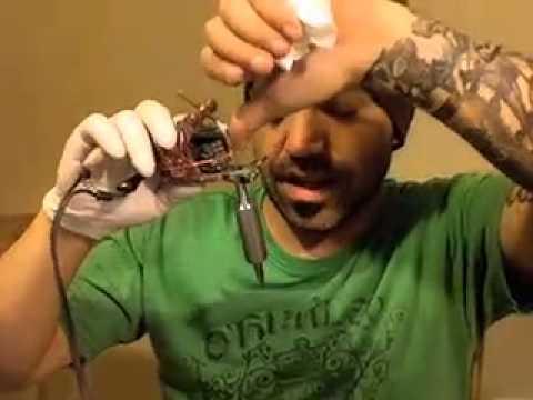 Tattoo Color Technique