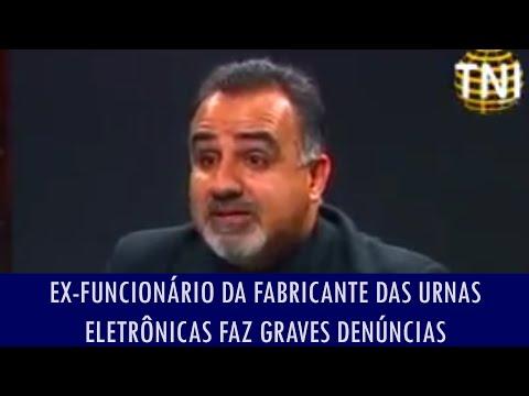 Ex funcionário da fabricante das urnas eletrônicas faz graves denúncias