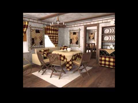 Кантри дизайн дома