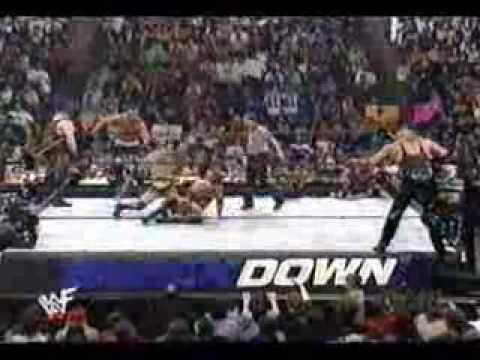 Rock, Kane and Hulk Hogan vs NWO thumbnail