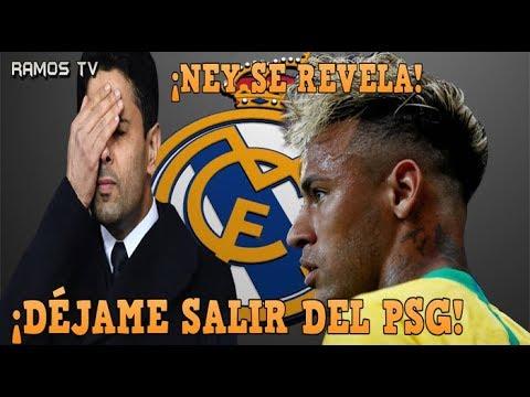 ÚLTIMA HORA: NEYMAR DA el PRIMER PASO para FICHAR por el REAL MADRID, HABLA CLARO con el PRESIDENTE thumbnail